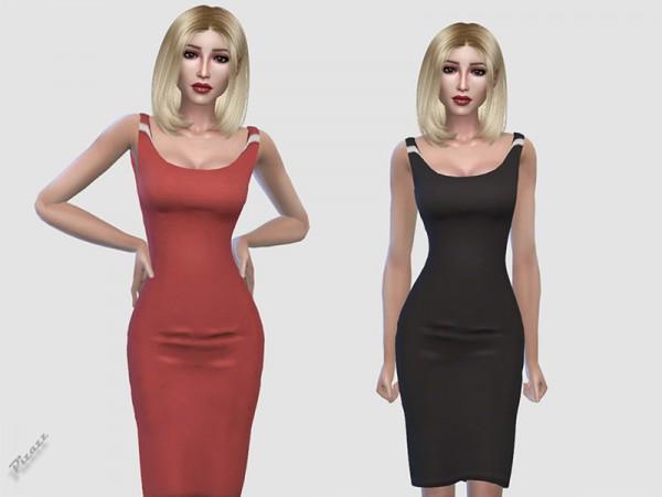 The Sims Resource: Elegant Midi Dress by pizazz