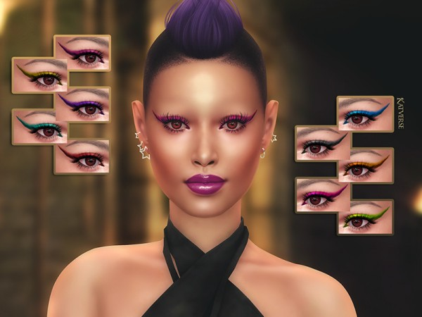 The Sims Resource: Ylena Eyeshadow by KatVerseCC