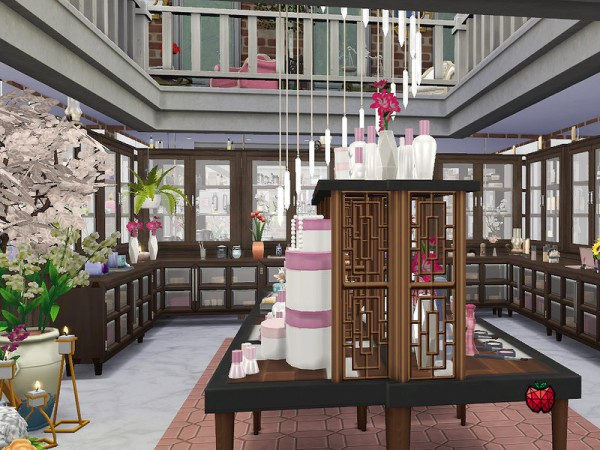 The Sims Resource: Phoebe beauty store by melapples