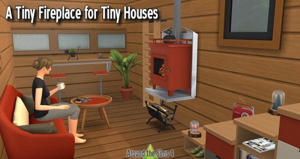 Around The Sims 4: Small wood burner