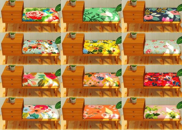 LinaCherie: Vroshiis storage bench   recolors