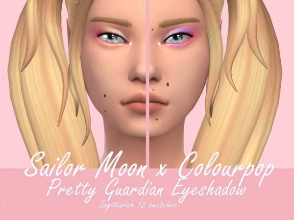 The Sims Resource: Sailor Moon Colourpop Pretty Guardian Eyeshadow by Sagittariah