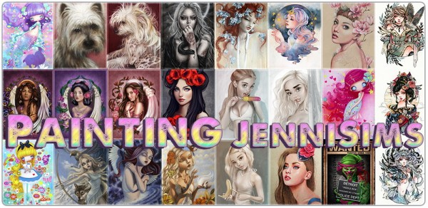 Jenni Sims: Collection Painting Reading