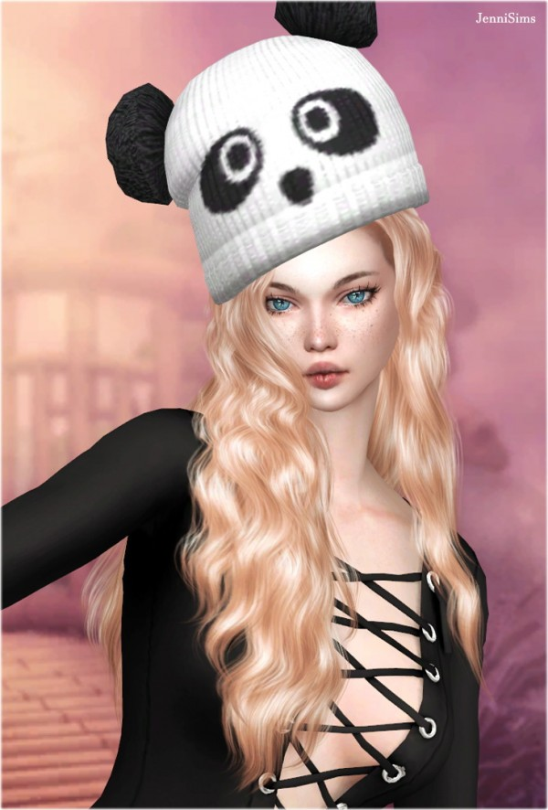 Jenni Sims: Collection Lady With Hat   8 Hats
