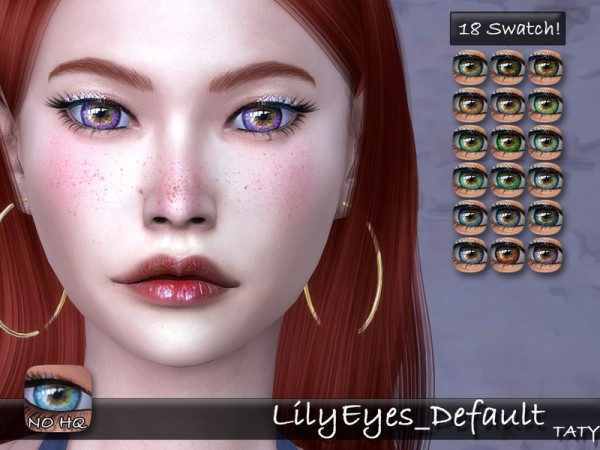 The Sims Resource: Lily Eyes by Taty