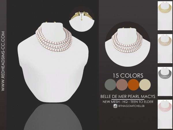 Red Head Sims: Belle De Mer Pearl Macys