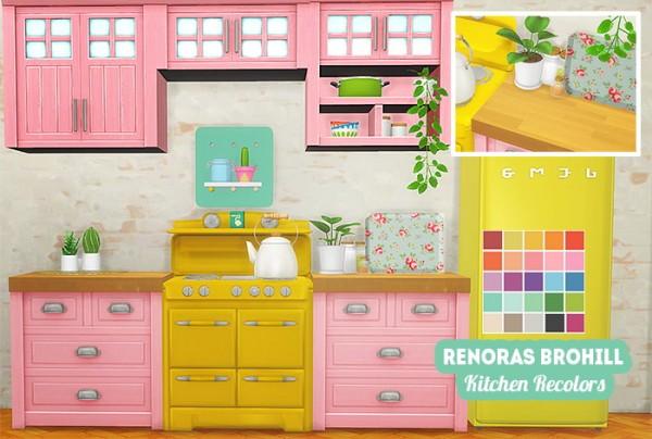 LinaCherie: Renora`s Brohill kitchen recolors