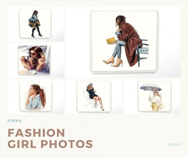 Dinha Gamer: Fashion Girl Photos