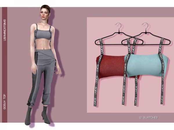 The Sims Resource: GoGuy Top by Lisaminicatsims