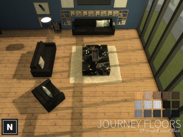 The Sims Resource: Journey floors by networksims