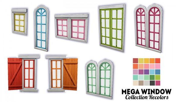 LinaCherie: Mega window collection   recolors