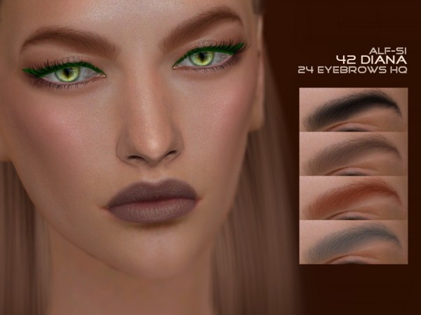 Alf Si: Eyebrows 42 Diana HQ