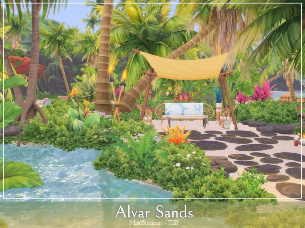 The Sims Resource: Alvar sands by Mini Simmer