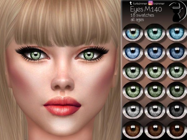The Sims Resource: Eyes M140 by turksimmer