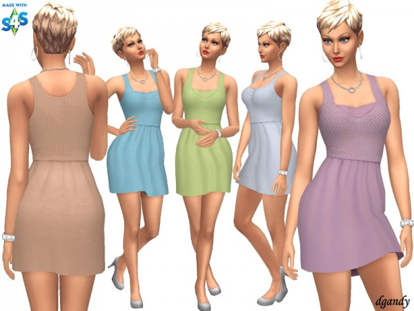 The Sims Resource: Dress 20200405 by dgandy