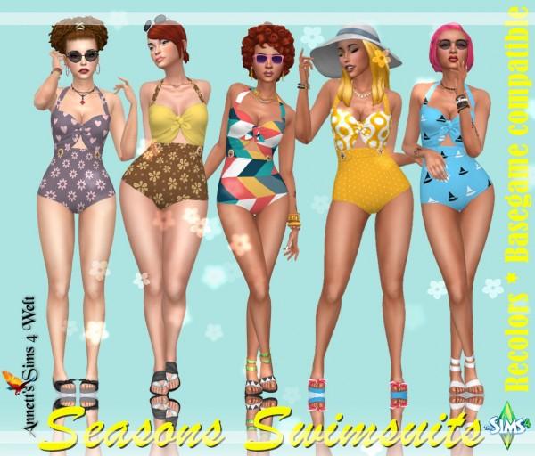 Annett`s Sims 4 Welt: Seasons Swimwear   Recolors