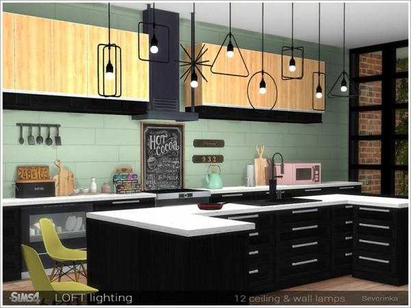 The Sims Resource: Loft lighting by Severinka