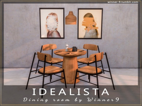 The Sims Resource: Idealista Dining Room by Winner9