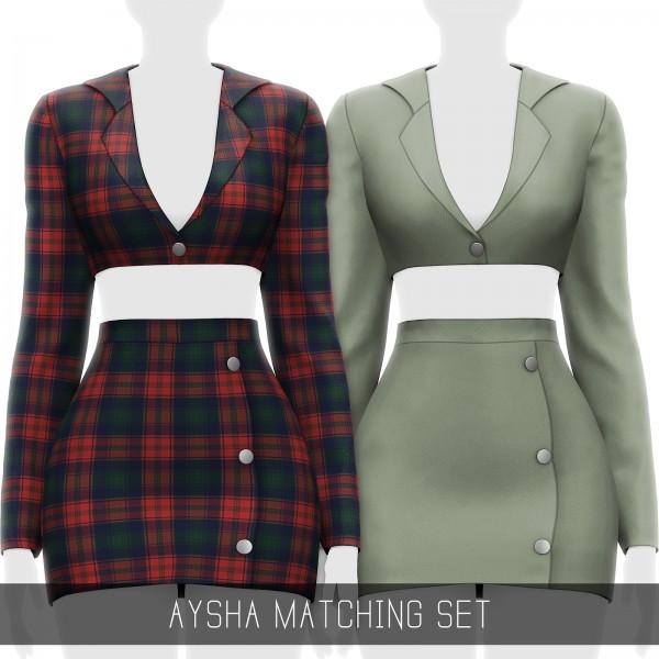 Simpliciaty: Aysha Matching Set