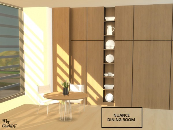 The Sims Resource: Nuance Dining Room by Chicklet