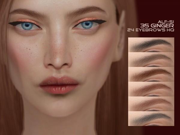 Alf Si: Eyebrows