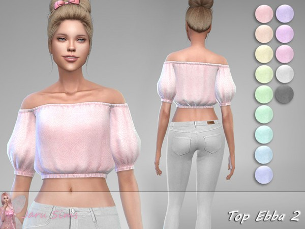 The Sims Resource: Top Ebba 2 by Jaru Sims