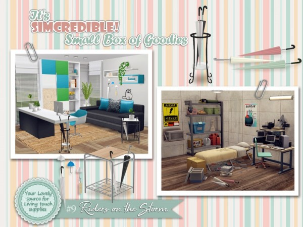 The Sims Resource: Riders on the Storm   Small Box of goodies 9 by SIMcredible!