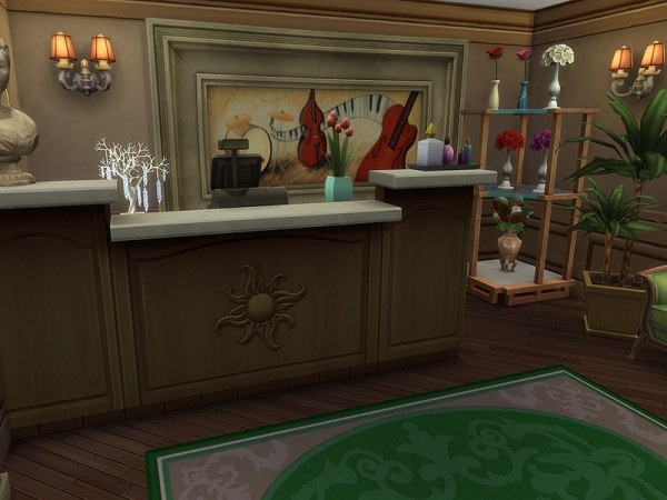 The Sims Resource: Verona Market Square by Ineliz