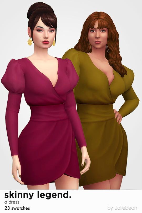 Joliebean: Skinny Legend dress