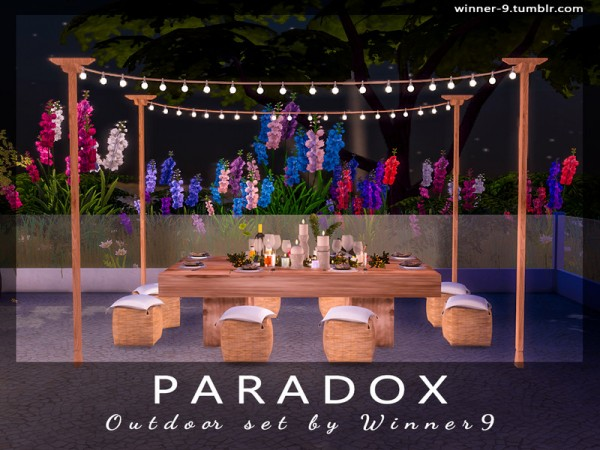 The Sims Resource: Paradox Outdoor by Winner9