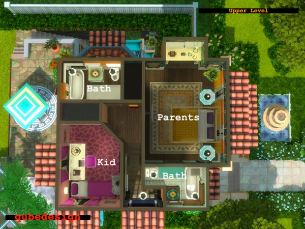 The Sims Resource: Mama Mia NO CC by QubeDesign