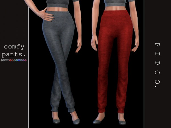 The Sims Resource: Comfy pants by Pipco