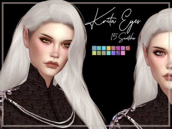 The Sims Resource: Krita Eyes by Reevaly