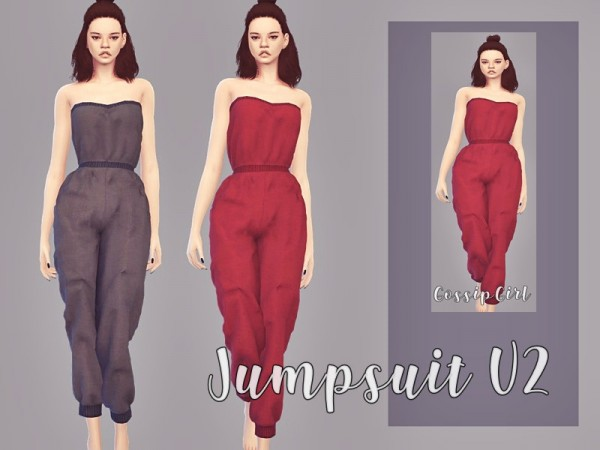 The Sims Resource: Jumpsuit V2 by GossipGirl S4