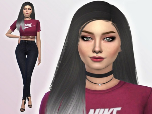 The Sims Resource: Sienna Dowell by Mini Simmer