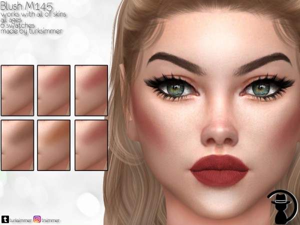 The Sims Resource: Blush M145 by turksimmer