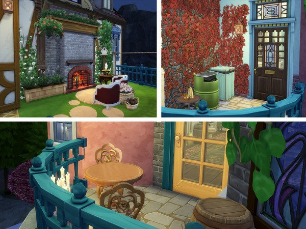 The Sims Resource: Howls Flying Castle by Ineliz