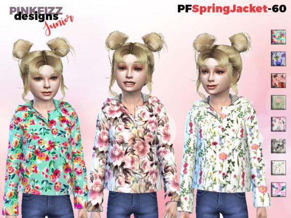 The Sims Resource: Spring Jacket   PF60 by Pinkfizzzzz