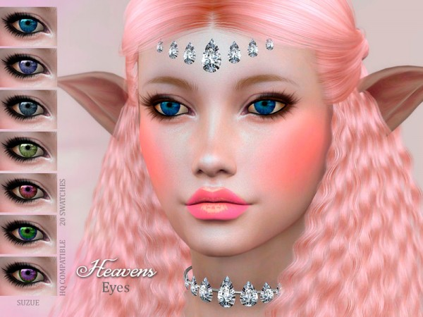 The Sims Resource: Heavens Eyes by Suzue