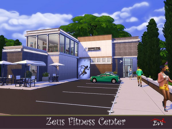 The Sims Resource: Zeus Fitness Center by evi