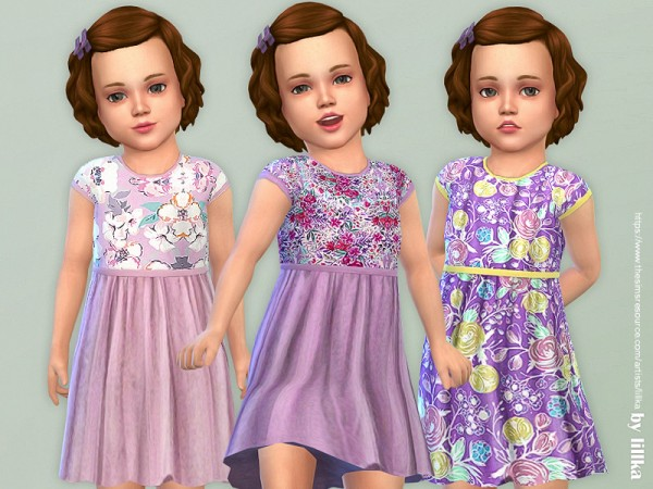 The Sims Resource: Toddler Dresses Collection P129 by lillka