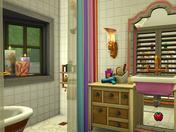 The Sims Resource: Michelle   tiny home   no cc by melapples