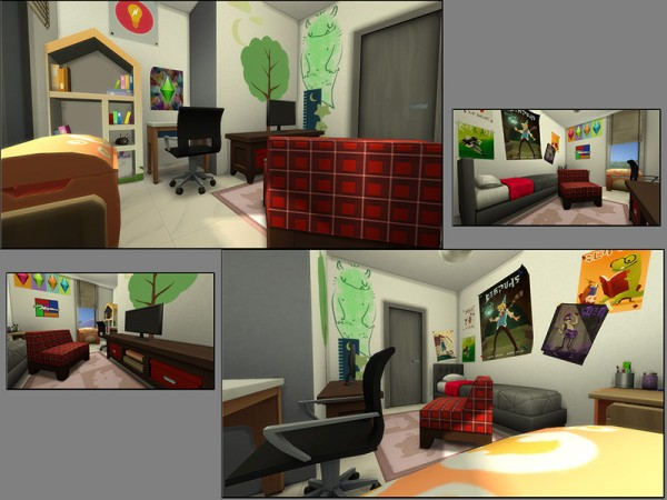 The Sims Resource: Up and Down House by matomibotaki