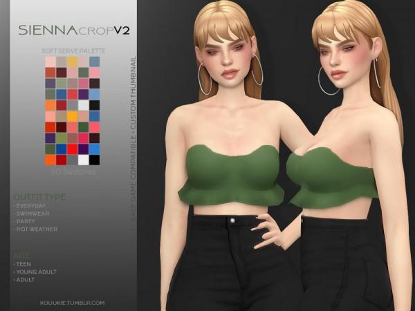 The Sims Resource: Sienna Crop V2 by Kouukie