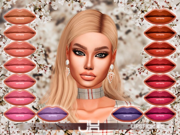 The Sims Resource: Lipstick 12 by Jul Haos