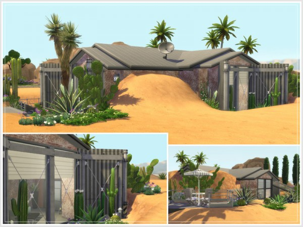 The Sims Resource: Converted Storehouse (No CC) by philo