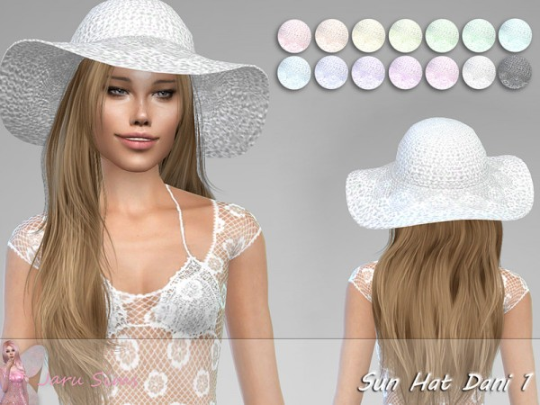 The Sims Resource: Sun Hat Dani 1 by Jaru Sims