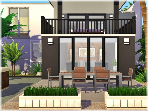 The Sims Resource: Cliff Cottage by Ray Sims