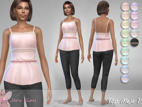 The Sims Resource: Top Meja 1 by Jaru Sims