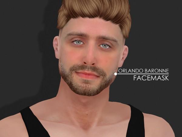 Red Head Sims: Orlando Baronne Sim and Skin